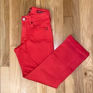 Lucky Brand Red Sweet N' Crop